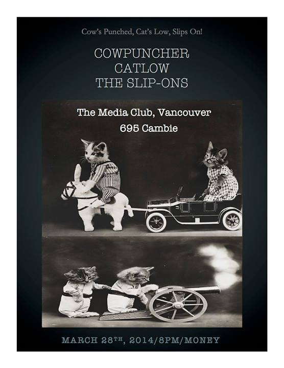 March 28 - Vancouver - Media Club